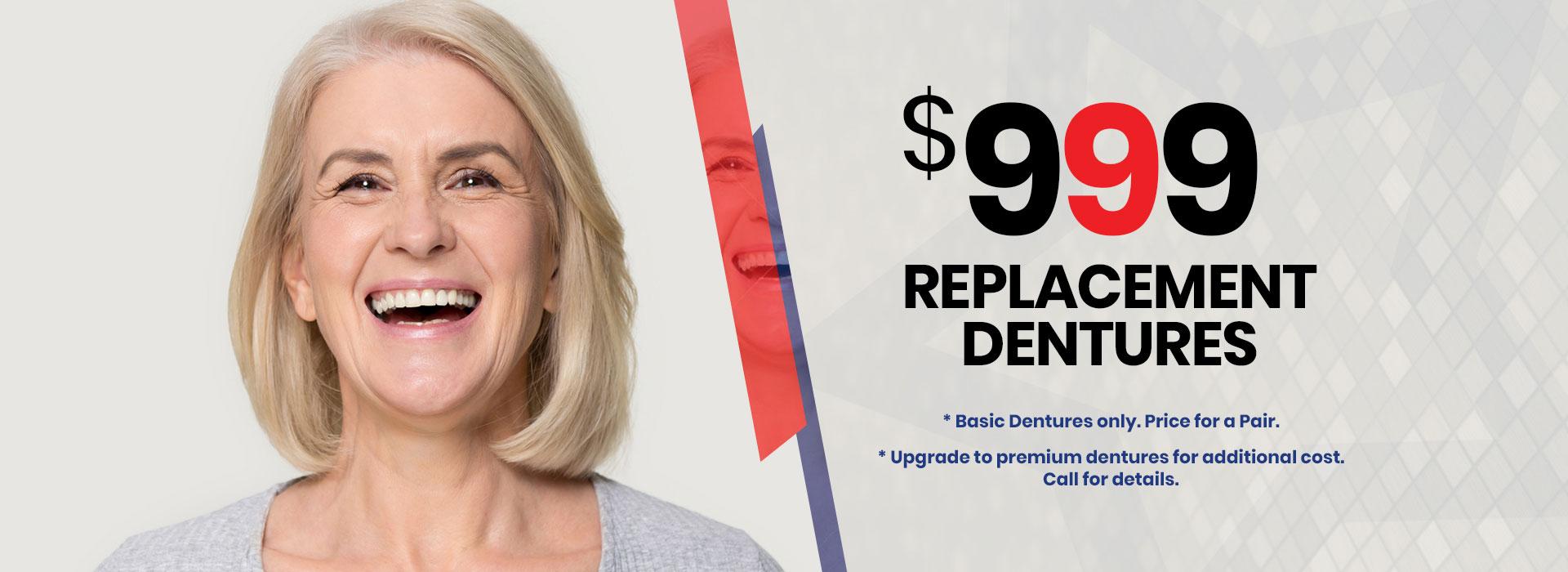 Replacements Dentures
